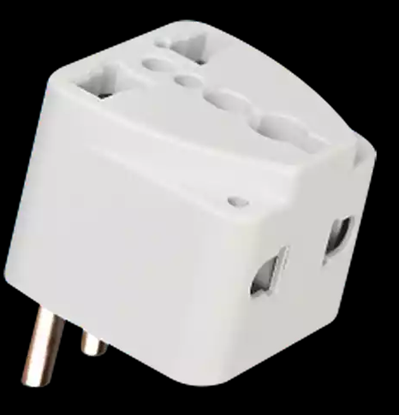 Picture of Transtec 2 Pin Travel Adapter (10 AMP)