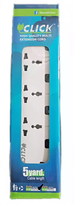Picture of RFL Click 4 Socket Multiplug (2 Pin) each
