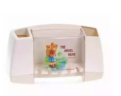 Picture of Angel Bear Toothbrush Holder (Cream)