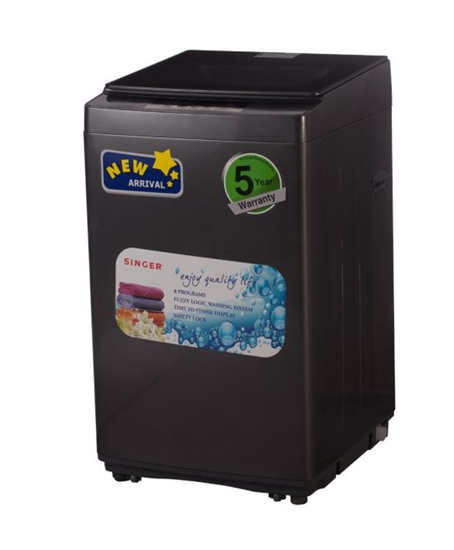 Picture of Washing Machine Singer 7 KG Top Loading