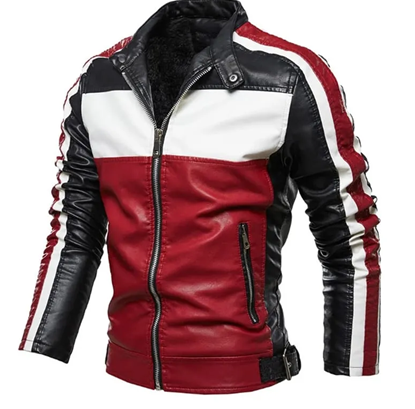 Picture of Artificial Leather Jacket