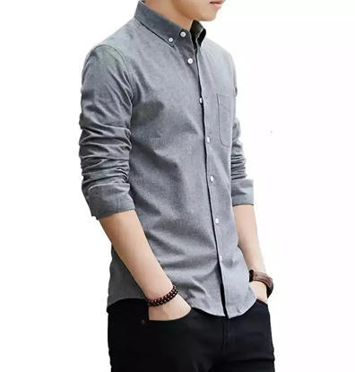 Picture of Fashionable Cotton Full Sleeve Shirt For Men