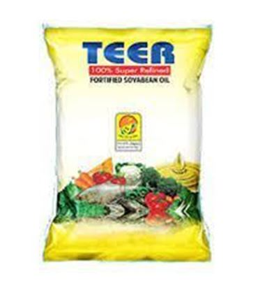 Picture of Fortified Soyabean Oil (TEER)-1Ltr. (Pouch Pack)