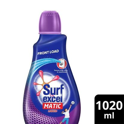 Picture of Surf Excel Matic Liquid Detergent Front Load 1020ml